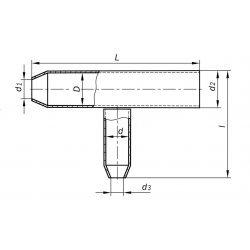 Муфта свинцовая тройниковая МСТ 7х12х7 ССД