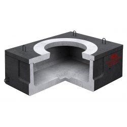 Колодец ККСр-0,5-10(80) ГЕК-ССД (В20) в битумно-латексной гидроизоляции
