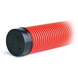 023110 Заглушка для двустенных труб, наружная, полипропилен, d=110мм