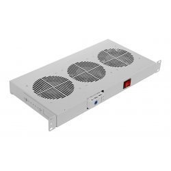 "Вентиляторный модуль , 3 вентилятора с термореле без шнура питания ВМ-3-19""-Т ССД"