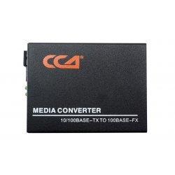 Медиаконвертер 100M, Tx1550/Rx1310 20km, RJ45 SC