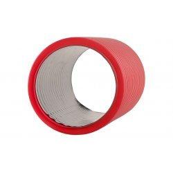 PR15.0069 Труба гофрированная двустенная ПНД жесткая тип 450 (SN12) красная д110 6м (36м/уп) Промрукав