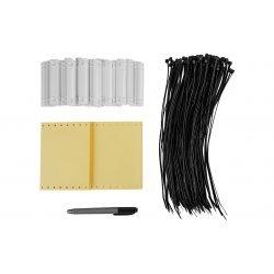 Комплект маркировочный пластмассовый КМП (в упаковке 50 комплектов и 1 маркер) ССД