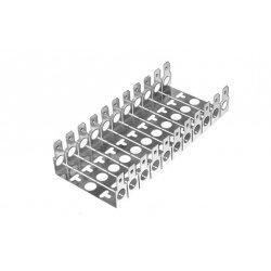 Монтажный хомут 2/10 для 11 модулей с перфорацией (глубина 22мм) ССД
