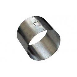 Манжета металлическая D120мм сварная для хризотилцементных (а/ц) труб D100мм ССД