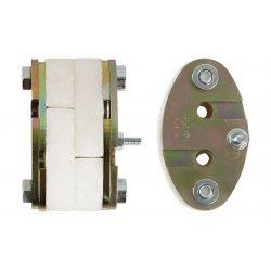 Комплект для ввода 4-7 мм ОК в овальный патрубок муфты МОГ-Т4 и МПО-Ш1 ССД