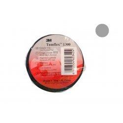 7100081325 Temflex 1300, серая, универсальная изоляционная лента, 15мм х 10м х 0,13мм