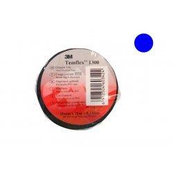 7100081323 Temflex 1300, синяя, универсальная изоляционная лента, 15мм х 10м х 0,13мм