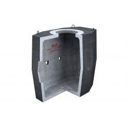 Колодец ККСр-3-10 ГЕК-ССД (В20) в битумно-латексной гидроизоляции