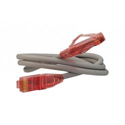 17690 Hyperline PC-LPM-UTP-RJ45-RJ45-C5e-0.5M-GY (PC-LPM-UTP-RJ45-C5e-0.5M-GY) Патч-корд U/UTP, Cat.5е, PVC, 0.5 м, серый
