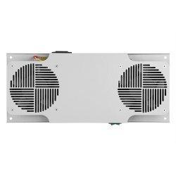 Вентиляторный модуль потолочный, 2 вентилятора с термодатчиком без шнура питания 35С ВМ-2П ССД