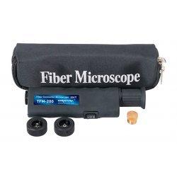 Микроскоп для контроля торцевой поверхности оптических коннекторов TFM-200 FC/SC/ST/LC (х200/400)