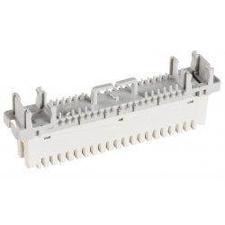 6089 1 121-02 Плинт LSA-PROFIL 2/10 с нормально замкнутыми контактами с маркировкой 1...0