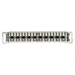 6089 1 102-06 LSA-PLUS Плинт 2/10, размыкаемые контакты, маркировка 0-9