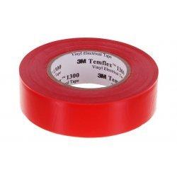 7100080341 Temflex 1300, красная, универсальная изоляционная лента, 19мм х 20м х 0,13мм