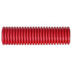 PR15.0187 Труба гофрированная двустенная ПНД жесткая тип 750 (SN10) красная д160 6м (24м/уп) Промрукав