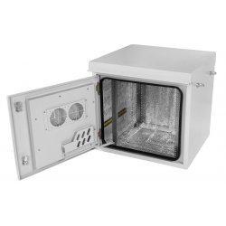 Шкаф климатический телекоммуникационный навесной ШКТ-НВ-2-18U-700-800 с крышей ССД
