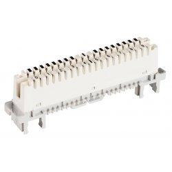 6089 1 120-06 Плинт LSA-PROFIL 2/10 с неразмыкаемыми контактами, с маркировкой 0…9, без цветового кода