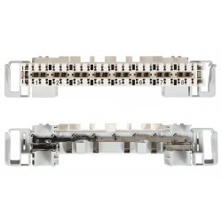 7015 1 008-01 Плинт LSA-PROFIL 2/8хabs, размыкаемые контакты 1...8