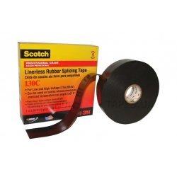 7000006090 Scotch 130C, самослип. резиновая изоляционная лента, 25мм х 9,1м