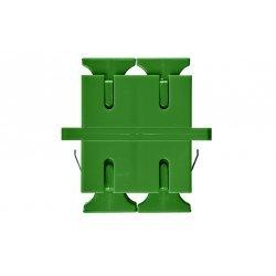 Адаптер (розетка) SC/APC SM дуплексный