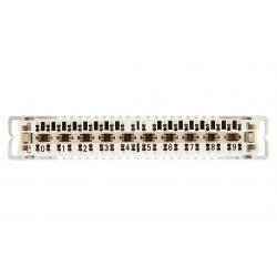 6089 1 121-06 Плинт LSA-PROFIL 2/10 с размыкаемыми контактами, с маркировкой 0...9, без цветового кода