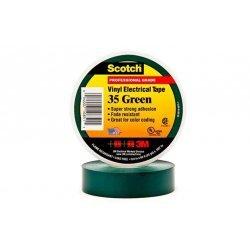 7000031669 Scotch 35, зеленая, изоляционная лента высшего класса, 19мм х 20м х 0,18мм