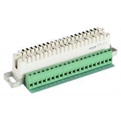 7004 2 001-01 Плинт 2/10 LSA-PLUS, дополнительная винтовая клемма, размыкаемые контакты
