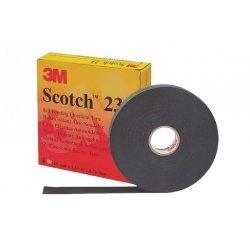 7000007286 Scotch 23, самослип. резиновая изоляционная лента в инд. уп., 19мм х 9,1м